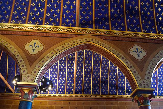 Great Hall Ceilings at Château de Blois #loire #france #chateau #travel