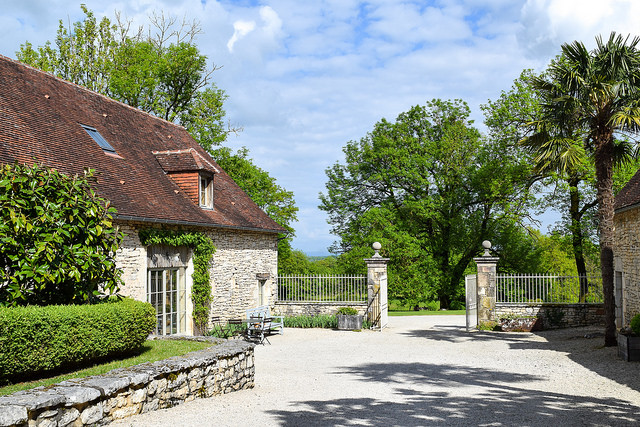 Spring at Manoir de Malagorse, France #hotel #travel #france