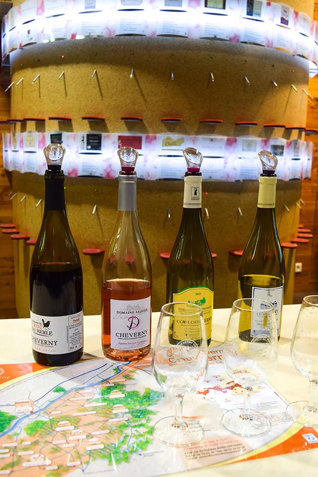 Tasting Cheverny AOC Wines #loire #france #wine #winetasting #travel