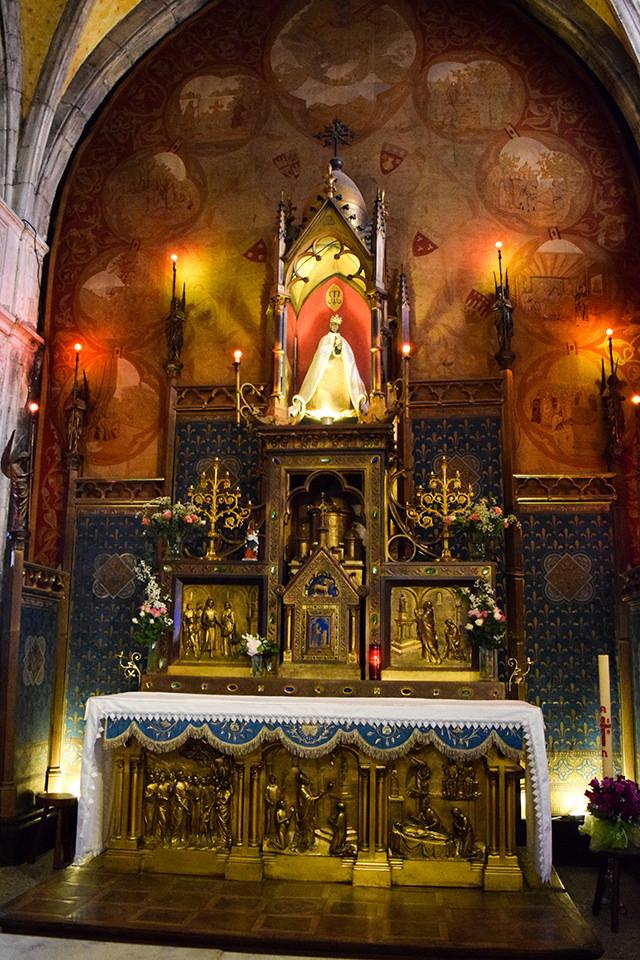 Church at Rocamadour, France #unesco #rocamadour #france #travel #travelguide