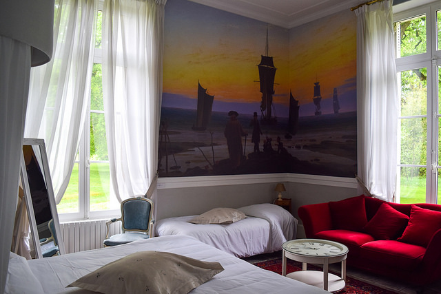 Bedroom at Château les Muids #loire #france #travel