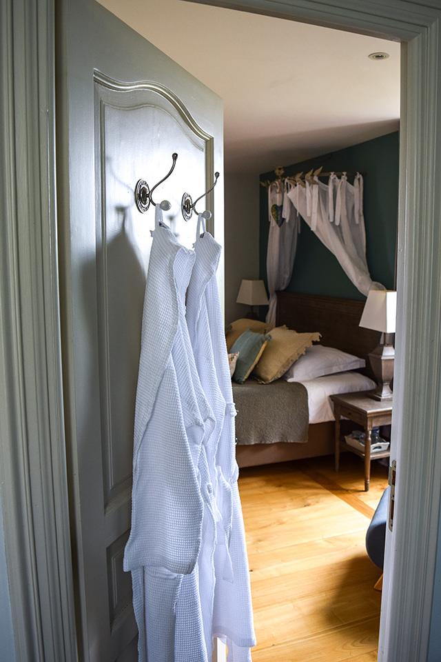 Bathrobes at Manoir de Malagorse, France #hotel #travel #france