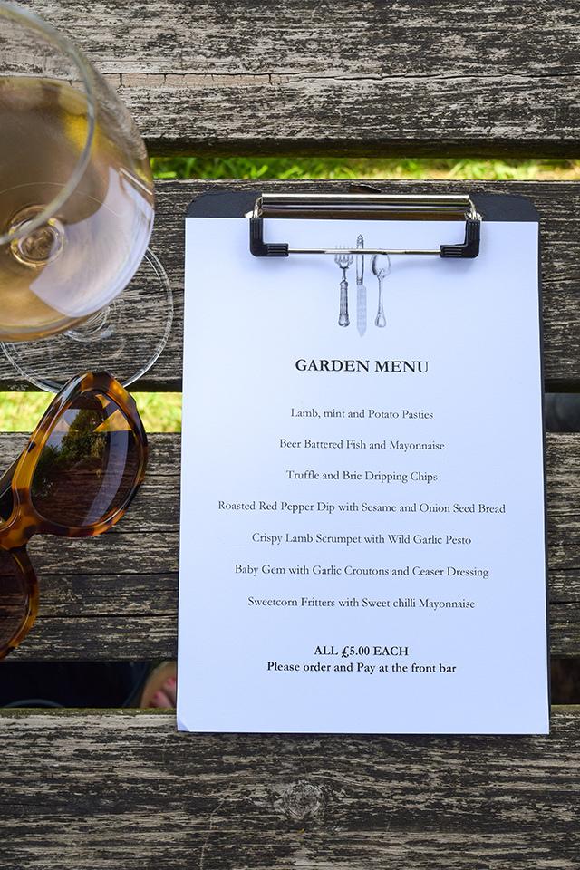 Weekend Pub Garden Menu at at The Compasses Inn, Crundale