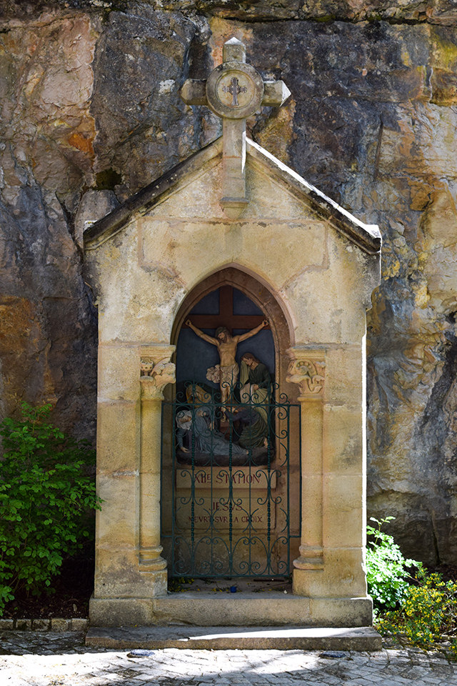 Pilgrimage Shrine at Rocamadour, Lot #unesco #rocamadour #france #travel #travelguide