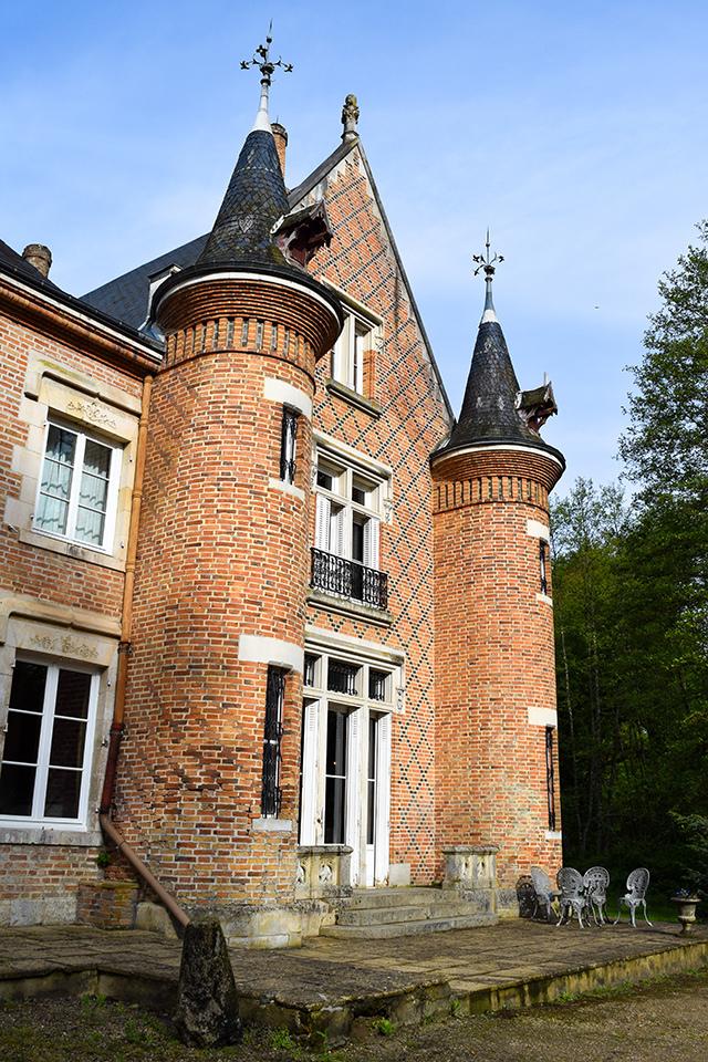 Front of Château les Muids #loire #france #travel