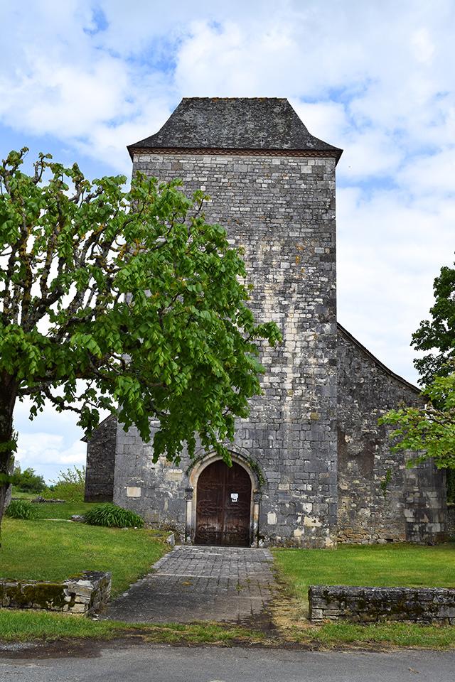 Local Village Near Manoir de Malagorse, France #france #travel
