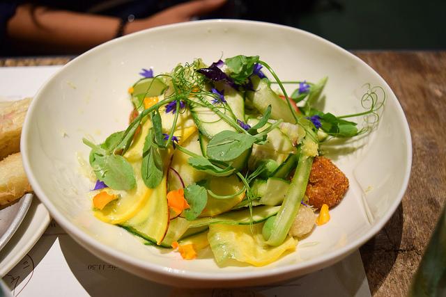 Spring Panzella Salad at La Goccia, Covent Garden #salad #coventgarden #london