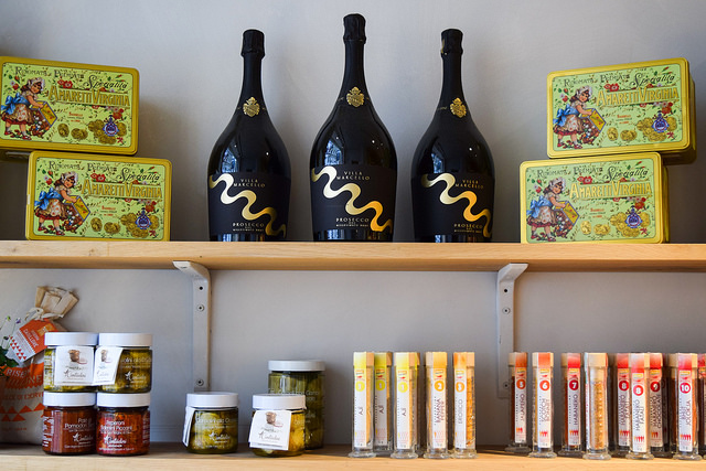Italian Products at La Goccia, Covent Garden #deli #coventgarden #london
