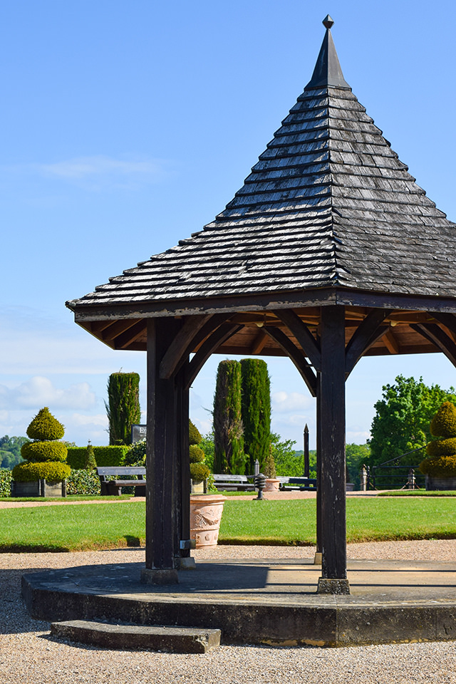 Bandstand at the Jardins de Eyrugnac #gardens #eyrugnac #dordogne #france #travel