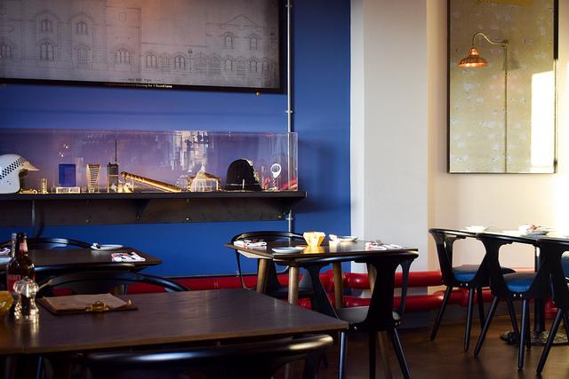 Dining Room at The Parade Room at The Pound, Canterbur #canterburyy