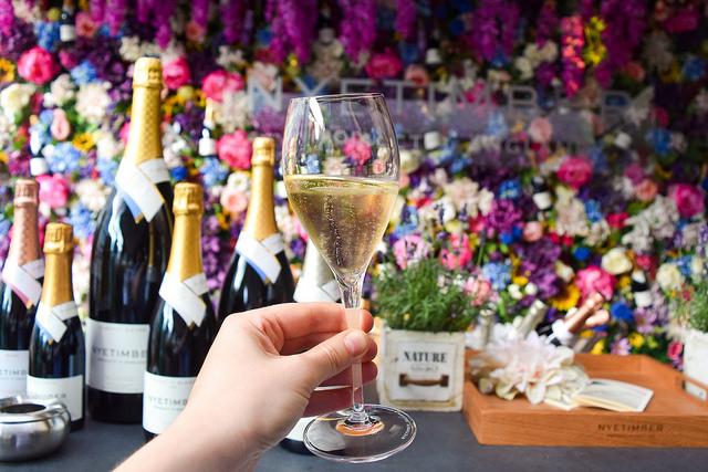 Nyetimber Summer Wine Terrace at Angler, Moorgate #nyetimber #englishsparklingwine #london #wineterrace #bar
