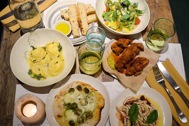 Dinner at La Goccia, Covent Garden #coventgarden #london