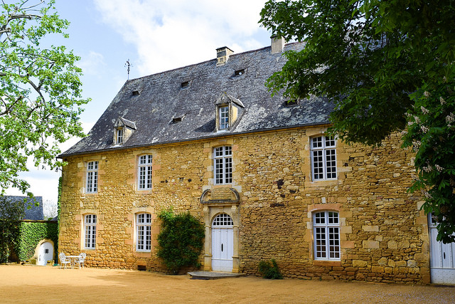 Manor House at the Jardins de Eyrugnac #gardens #eyrugnac #dordogne #france #travel
