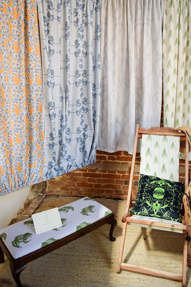 Kate Linforth Fabrics at Wealden Literary Festival 2018