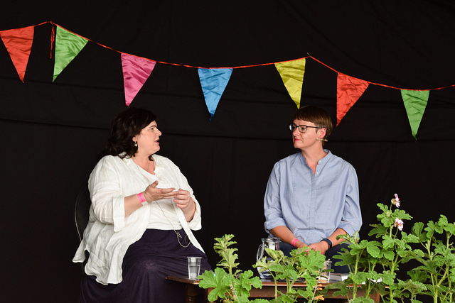 Diana Henry Interviewed at the Wealden Literary Festival 2018