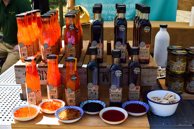 Mighty Fine Things Vinegars and Sauces at Wealden Literary Festival 2018