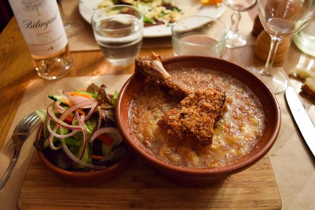 Cassoulet at La Petite Borie, Sarlat #cassoulet #duck #pork #sarlat #france #dordogne #perigord