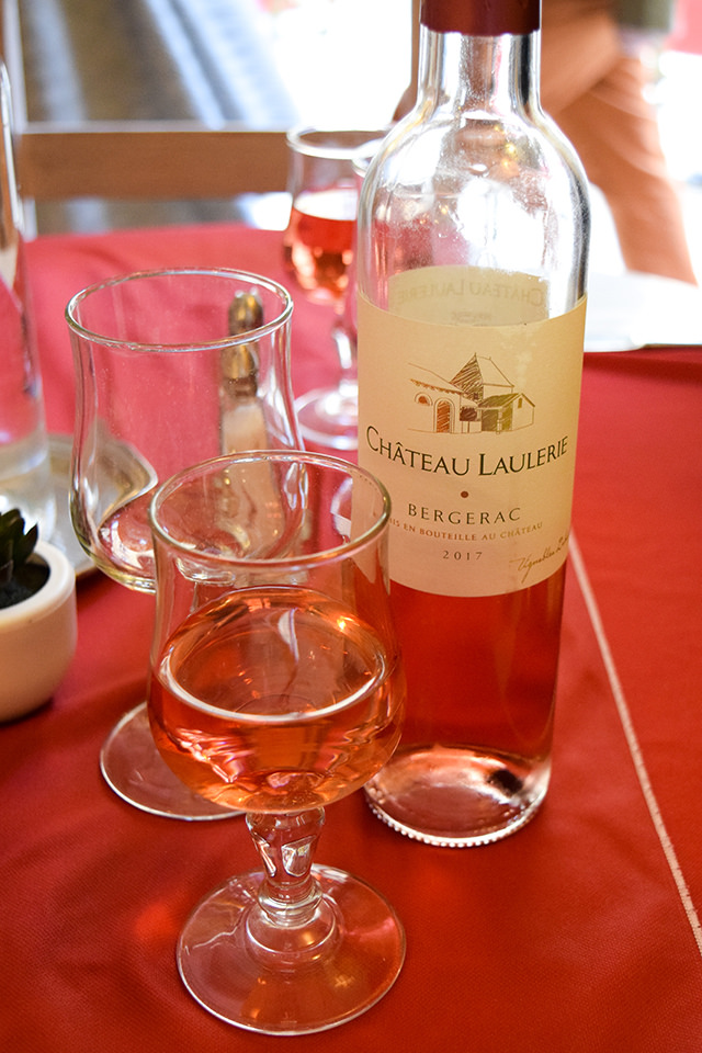 Bergerac Rose at Le Malraux, Sarlat #wine #sarlat #france #dordogne #perigord