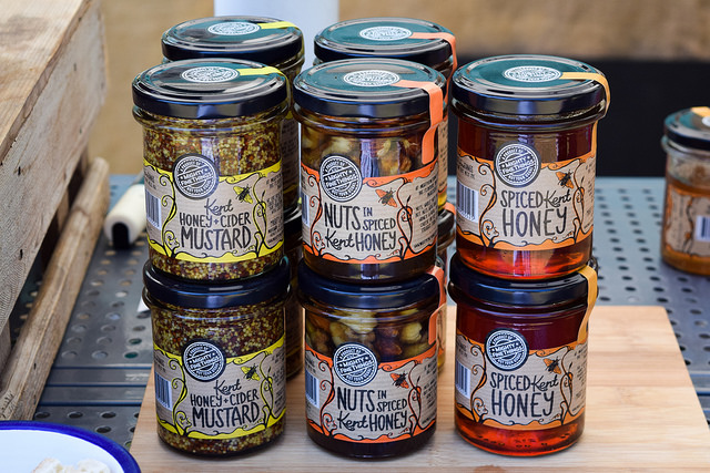 Mighty Fine Things Mustards at Wealden Literary Festival 2018
